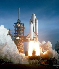 Space Shuttle Columbia Launch, April 1981