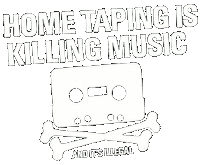 Home Taping Is Killing Music Logo