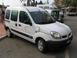 Πρωτότυπο ευρωπαϊκό φορτιζόμενο υβριδικό όχημα Renault Kangoo.