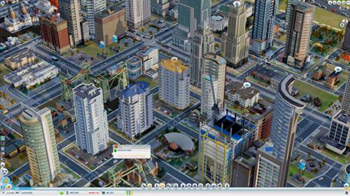 SimCity looks and feels familiar, but you can now zoom, pan and rotate freely in 3D.